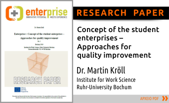 enterprise+  Research Paper Dr. Martin Kroell, IAW.RUB